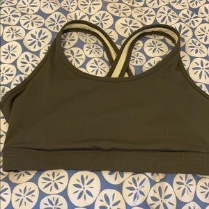 New AVIA low impact  wire-free sports bra Size L